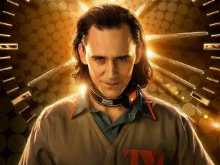 Tom Hiddleston as Loki 2021 wallpaper
