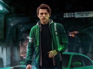 Tom Holland as Ben 10 Superhero wallpaper