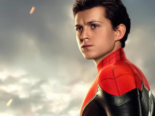 Tom Holland Spider Man Far From Home Poster wallpaper