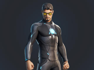 Tony Stark Iron Man Skin Fortnite wallpaper