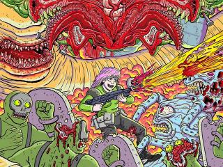 Tormentor X Punisher Game wallpaper