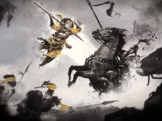 Total War Three Kingdoms Game Poster wallpaper