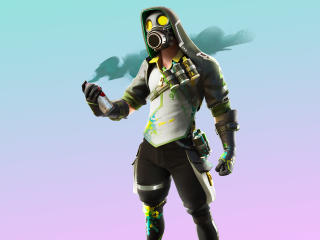 Toxic Tagger Fortnite wallpaper