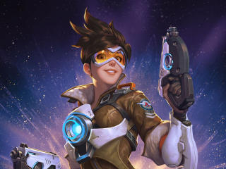 Tracer Overwatch 2019 wallpaper