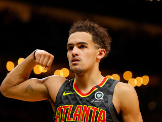 Trae Young Biceps wallpaper