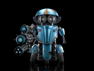 Transformers 5  Squeeks Blue Robot wallpaper