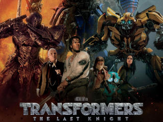 Transformers The Last Knight 2017 Movie Poster wallpaper