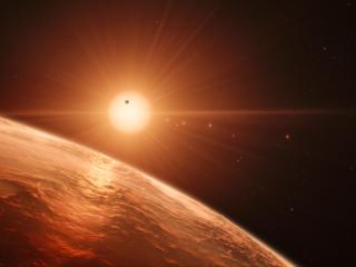 TRAPPIST 1 Planet wallpaper