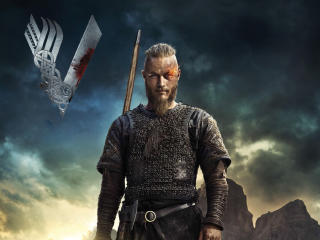 Travis Fimmel In Vikings wallpaper