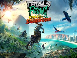 Trials Rising Crash And Sunburn wallpaper