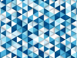 Triangle 8K Blue Pattern wallpaper