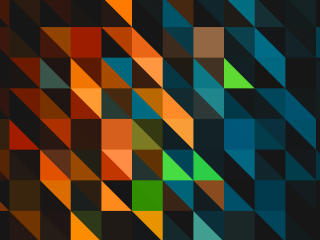 Triangle Colorful Pattern wallpaper