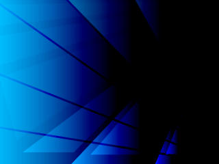 Triangle Geometric Blue Amoled Art 5K wallpaper