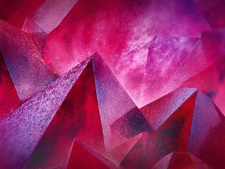 Triangles Piramid Geometry 3D Art wallpaper