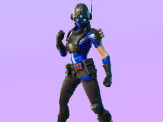 Trilogy Fortnite 4K Outfit wallpaper