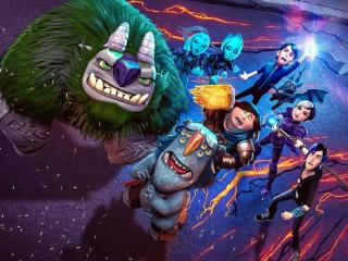 Trollhunters Rise of the Titans 2021 wallpaper