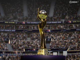 HD Wallpaper | Background Image Trophy FIFA 19