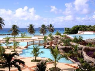 tropical, resort, palm trees wallpaper