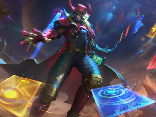 Twisted Fate HD League Of Legends wallpaper