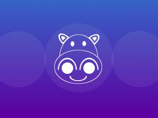 Ubuntu 21 Hirsute Hippo wallpaper