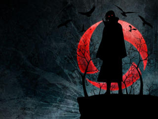 Uchiha Itachi Dark wallpaper