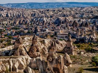 uchisar, cappadocia, turkey wallpaper
