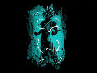 Ultra Goku Cool 2020 Minimal wallpaper