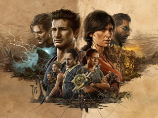 Uncharted Legacy Of Thieves HD Game wallpaper