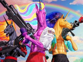 Unicorn Fortnite Chapter 2 Season 8 Cubed wallpaper