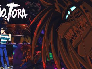 Ushio & Tora Poster wallpaper
