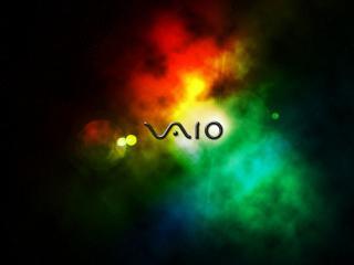 vaio, space, light wallpaper
