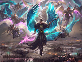 Valkyries Magic The Gathering wallpaper