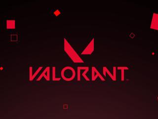 Valorant Logo Art wallpaper