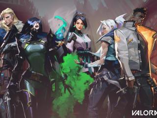 Valorant OG Character wallpaper