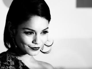 Vanessa Hudgens black and white wallpaper wallpaper