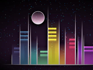 HD Wallpaper | Background Image Vector Celestial City
