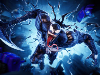 Venom Fortnite 4K wallpaper