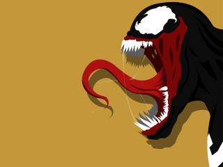 Venom Illustration wallpaper