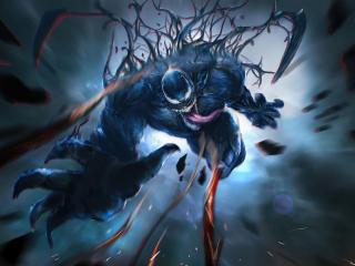 Venom Let There Be Carnage 4k Art wallpaper
