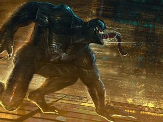 Venom Marvel Comic Art wallpaper