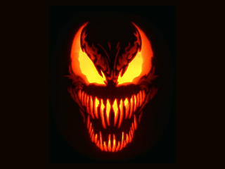 Venom Marvel Halloween wallpaper