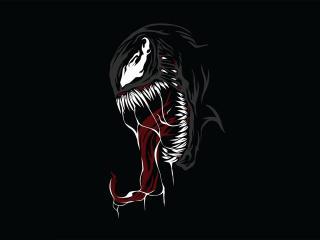 Venom Minimal wallpaper