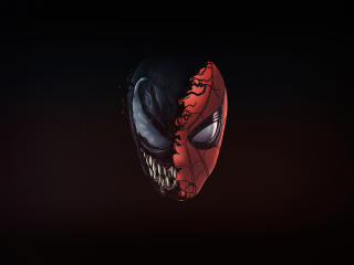 Venom x Spiderman 4K wallpaper