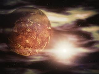 venus, space, galaxy wallpaper