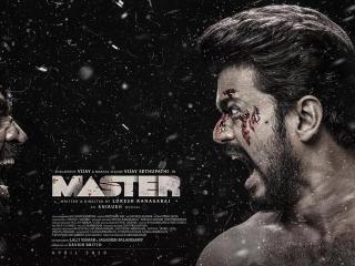 Vijay Master Movie Poster wallpaper