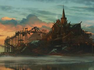 Viking Sunset wallpaper