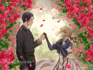 Violet Evergarden 4k Anime wallpaper