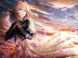 Violet Evergarden Anime Girl wallpaper