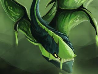 HD Wallpaper | Background Image viper, netherdrake, hd art