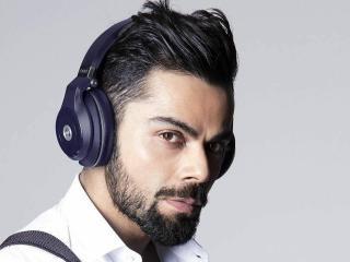 Virat Kohli Listen Music Style wallpaper
